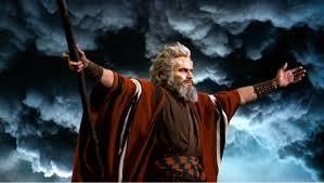 映画「十戒」モーセの姿